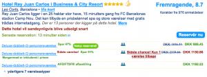 Udklip fra booking.com
