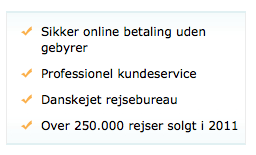 Udklip fra FDM-travel.dk